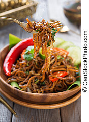 spicy fried noodle