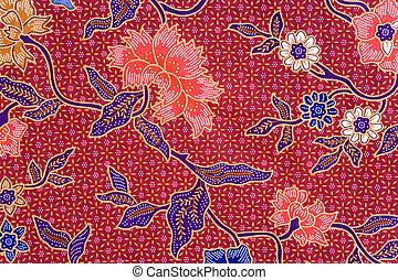Indonesian Batik Sarong - Image of Indonesian batik sarong ...