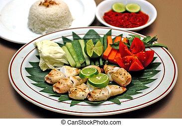 sea food - Indonesian sea food menu