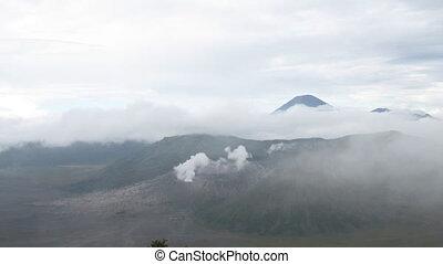 Indonesian volcanos lanscape timela
