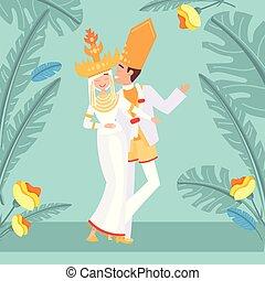Indonesian wedding image