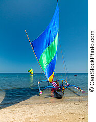 indonesiano, barca