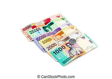 indonesiano, indonesia, rupiah