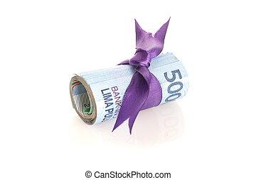 indonesiano, rupiah, soldi, -