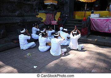 indonesiano, tempio