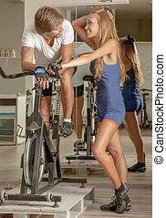 Indoor Activities Fitness Active People Affection