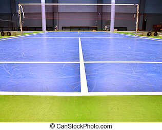 badminton court - indoor badminton court