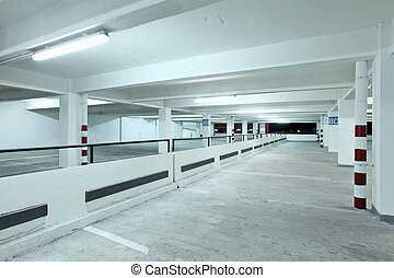 indoor, carpark