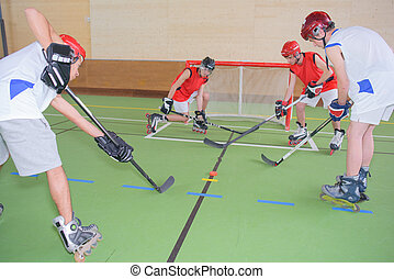 indoor hockey