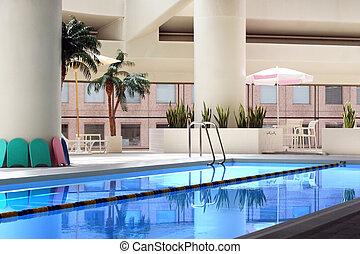 Indoor pool - Indoor swimming pool (horizontal)