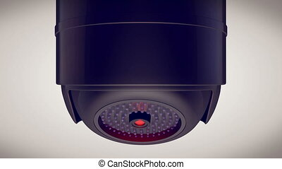 """Indoor Security Camera"" - ""Indoor Security Camera, CCTV on..."