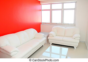 Indoor - Interior of the house - sofa room .