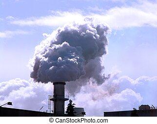industriële verontreiniging