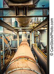 industri, installation apparatur