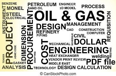 industri, olie, gas