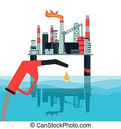 industri, olja, design