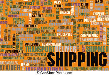 industri, skeppning