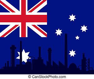 industria, bandiera australia