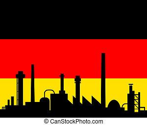 industria, bandiera germania