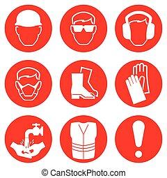 industria de la construcción, iconos