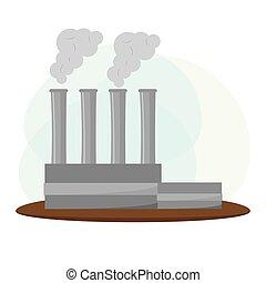 industria de la energía, paisaje