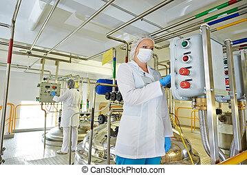 industria farmaceutica, lavoratore