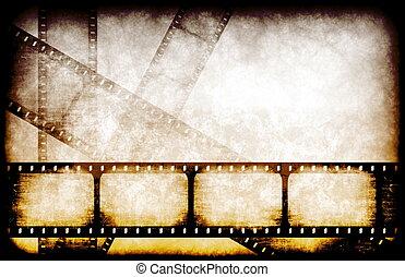 industria film, bobine, evidenziato
