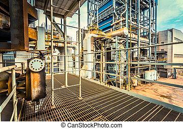 industria, instalación de equipo