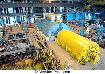 industria, instalaciones, potencia