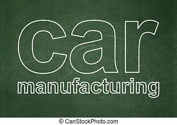 industria macchina, lavagna, fondo, manifatturiero, concept: