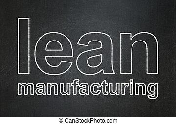 industria, magro, lavagna, fondo, manifatturiero, concept: