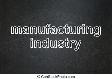industria, manufacuring, lavagna, fondo, manifatturiero, concept: