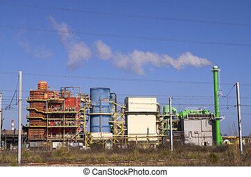 industria, producto petroquímico