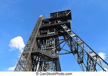 Industrial architecture Katowice