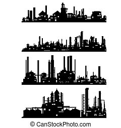 Industrial architecture - The contour of industrial...
