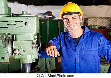 industrial artisan portrait