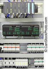 industrial, automatización, y, control
