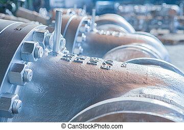 Industrial big dimentions gate valves