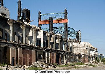 Industrial building under