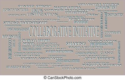 industrial business word cloud vector illustration. - ...