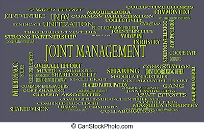industrial business word cloud vector illustration. - Joint ...