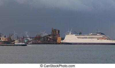 Industrial cargo port