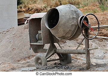 cement mixer - Industrial cement mixer machine at ...