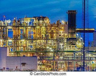Industrial Chemical plant framework profile