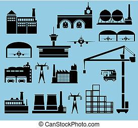 industrial, ciudad