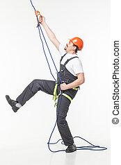 industrial climber man