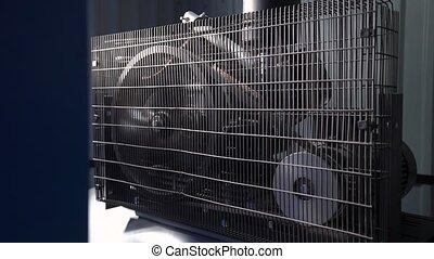 Industrial Compressor Engine