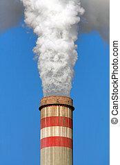 industrial, contaminación atmosférica