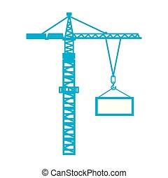 industrial crane loading container cargo terminal element