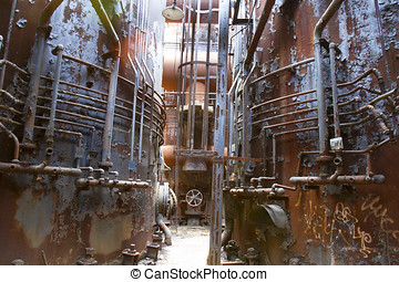 industrial, decadência
